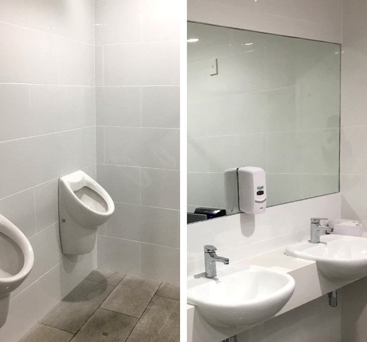 commercial bathroom tiling auckland