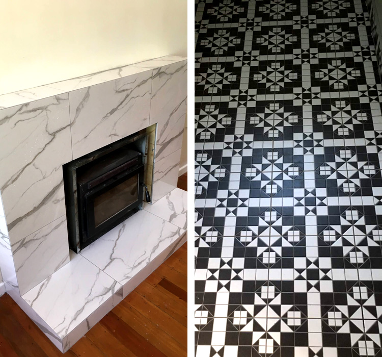 lounge utilities entrance tiling auckland